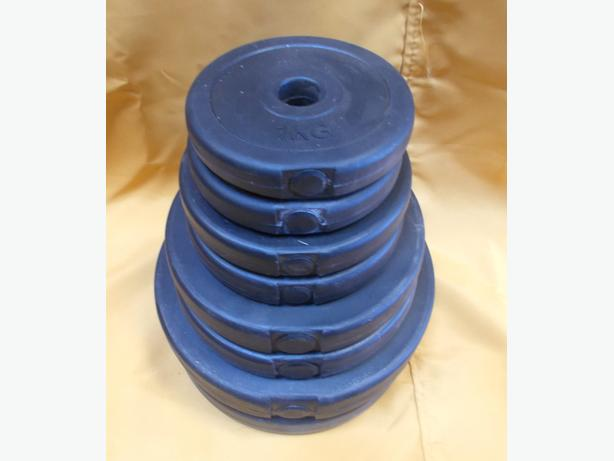 Set Of Weight Plates (4 Sizes)