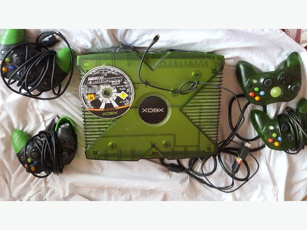 green limited edition xbox