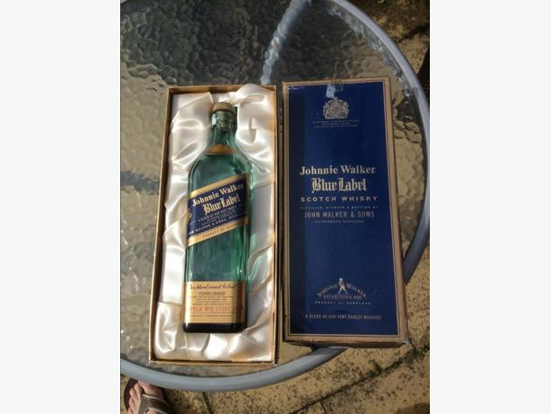 JOHNNY WALKER BLUE LABEL BOTTLE