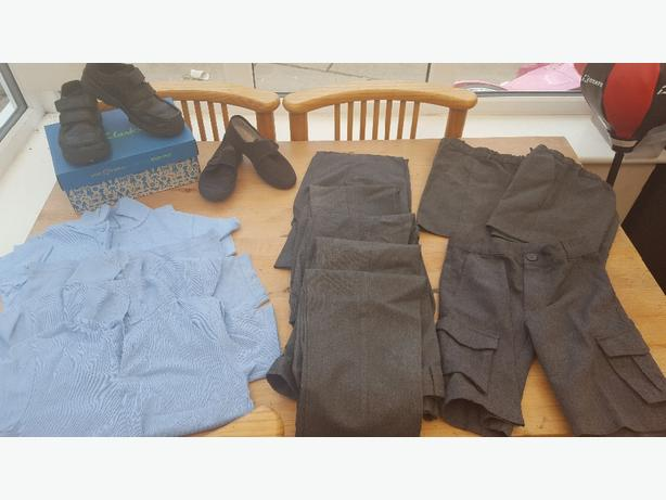 boys school uniform bundle
