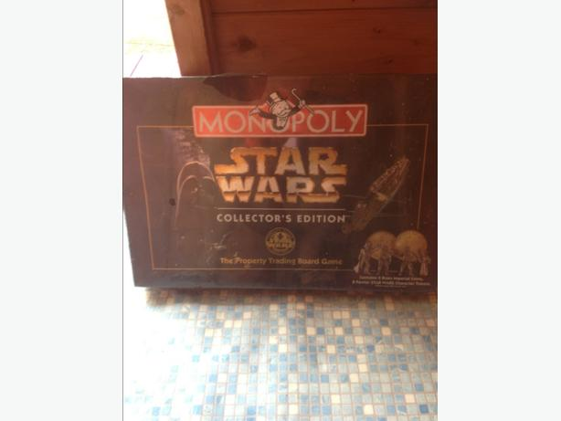 MONOPOLY SET STAR WARS COLLECTORS EDITION 1977 TO 1997