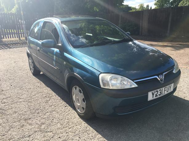 Vauxhall Corsa 1.2 Automatic, very good condition, power steering