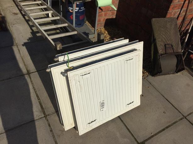 House radiators 6 in total, double and single various sizes