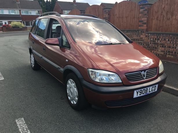 Vauxhall Zafira 1.8 Automatic 7 seater, good condition