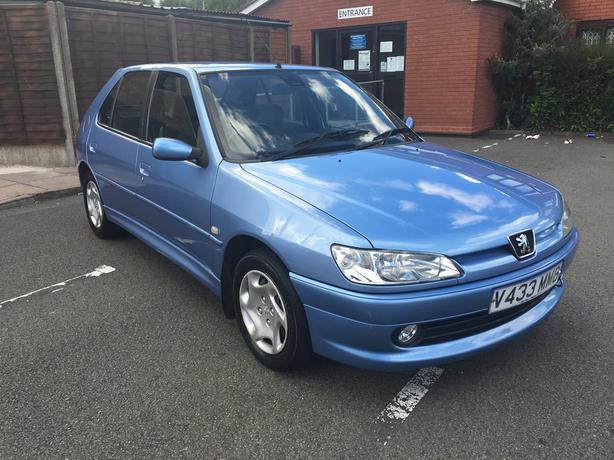 Automatic Peugeot 306 1.6, 72000 low mileage long mot till july 2017