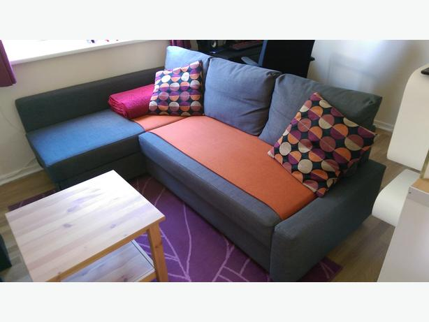 ikea friheten corner sofa bed free coffee table tipton wolverhampton. Black Bedroom Furniture Sets. Home Design Ideas