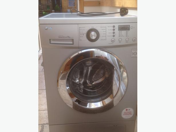lg 8kg direct drive washing machine tipton sandwell. Black Bedroom Furniture Sets. Home Design Ideas