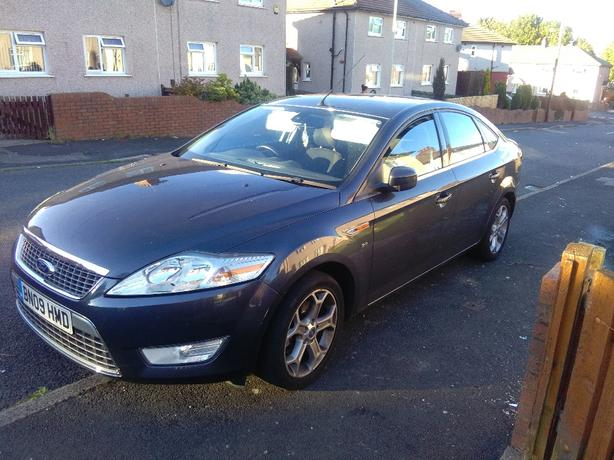 ford mondeo titanium low miles