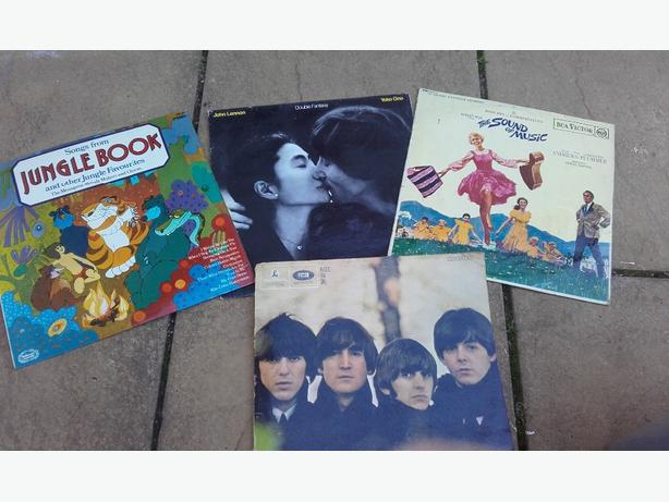 various rare lps