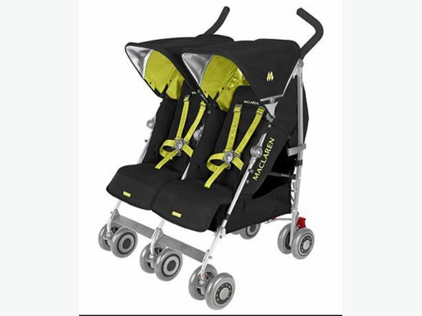 mclarens double buggy