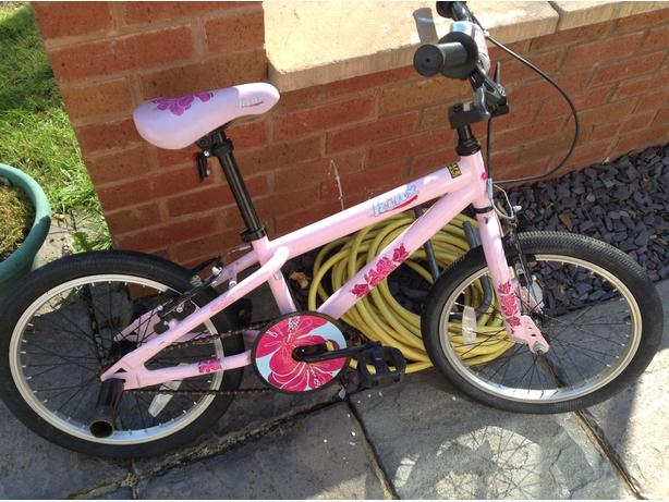 Bike girls bmx pink