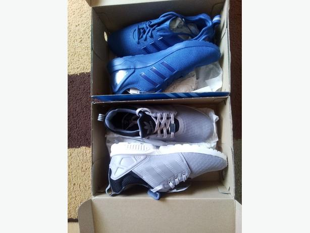 *Quick Sale* 2 Flux, Mens ZX Flux ADV Blue SIZE 10 & ZX Flux NPS Platinum Size 9