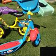 Thomas the tank scooter and Bob the builder pedal bike