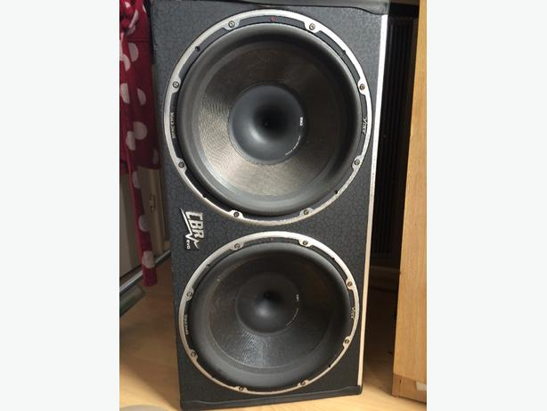 "Twin Vibe Blackdeath 15"" 15,000 WATTS!"