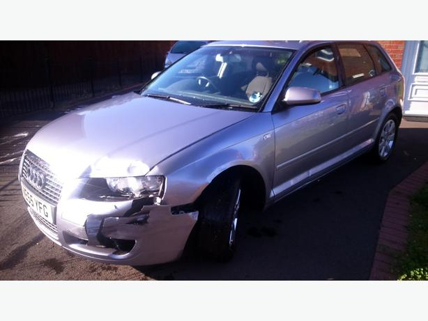Audi a3 1.6fsi low damaged Cat d