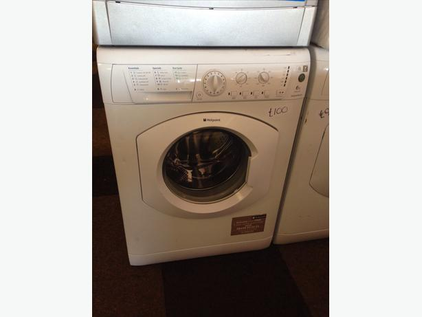 HOTPOINT WASHING MACHINE 6KG WHITE4