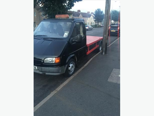 Ford transit recovery truck smiley face 2.5di