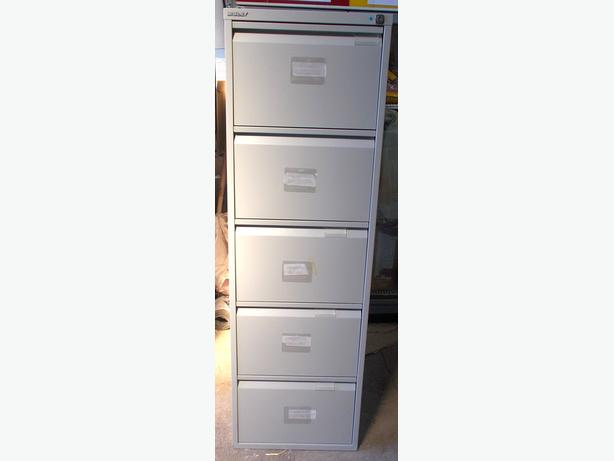 Bisley 5 Draw Filing Cabinet – Collection Only