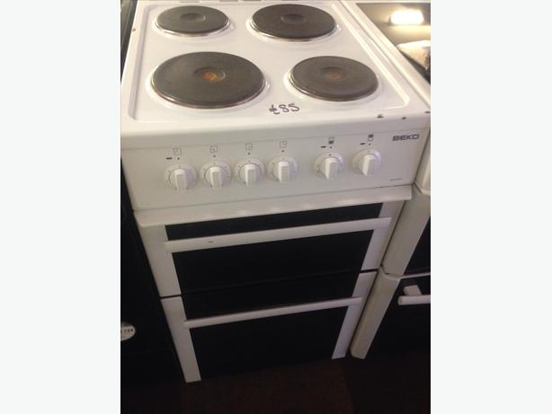 BEKO ELECTRIC COOKER 50CM FAN ASSISTED00