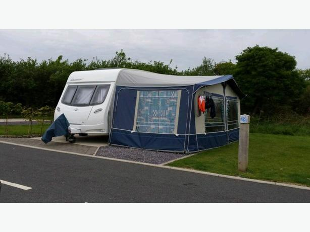 2 caravan awnings