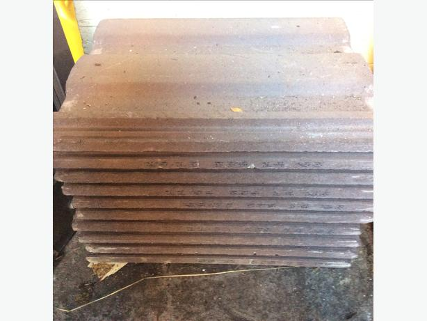 10 x roofing tiles