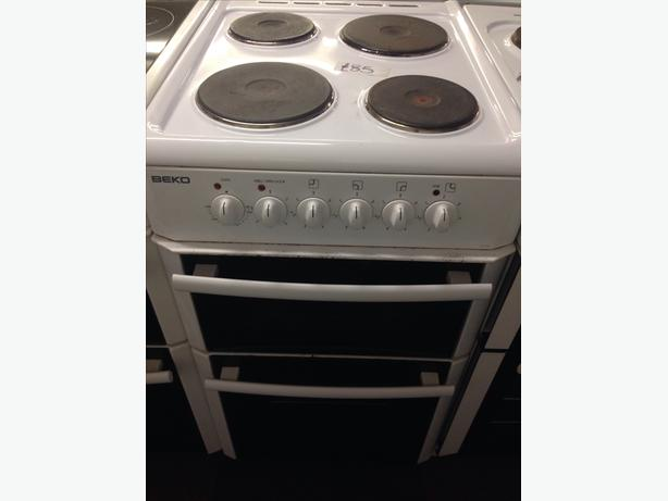 BEKO PLATED TOP ELECTRIC COOKER 50CM..