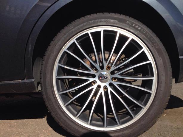 alloy wheels mondeo mk3 with brand new tyres set of 4