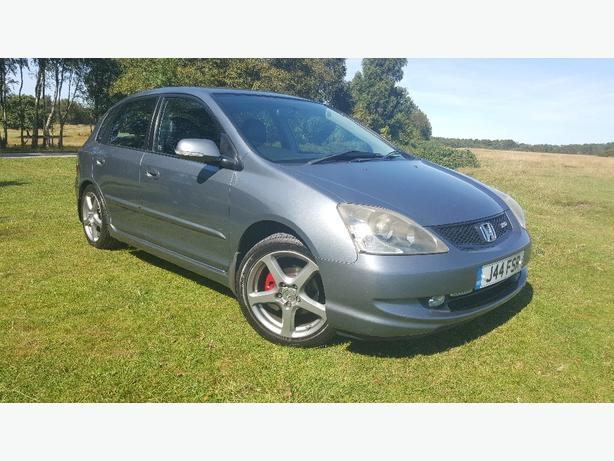 "RARE HONDA CIVIC TYPE-S WITH VSA SAT NAV 17"" PENTA ALLOY WHEELS £1700 ONO"