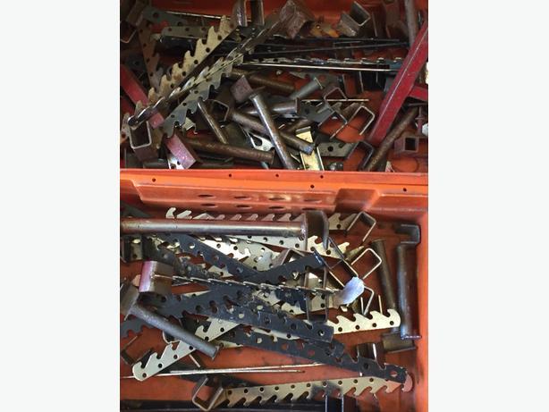 used market stall hanger brackets
