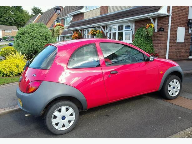 RED FORD KA 1.3 - 57 PLATE