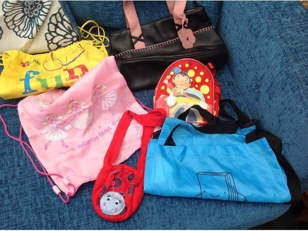 Dressing up bags