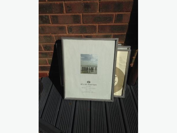 4 large silver frame