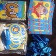 brand new various kids birthday packs