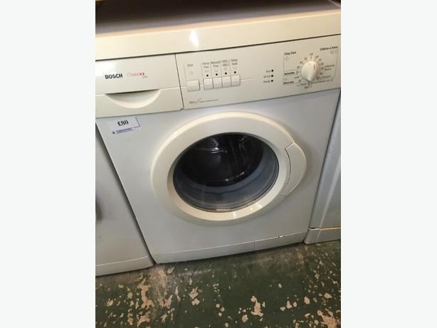 🔵🎈bosch washer free delivery&fitting