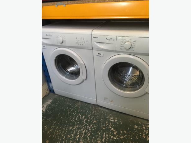 🚚beko washers 5kg aaclass free fitting and delivery