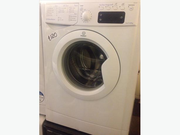 INDESIT WASHING MACHINE 8KG WHITE2