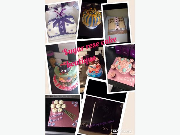 sugar rose cake boutique