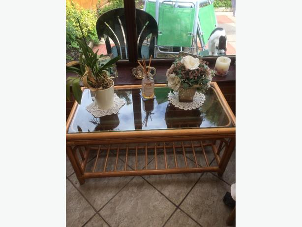 Cane Conservatory table