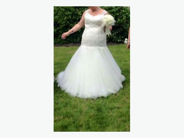 phoenix wedding dress size 16/18