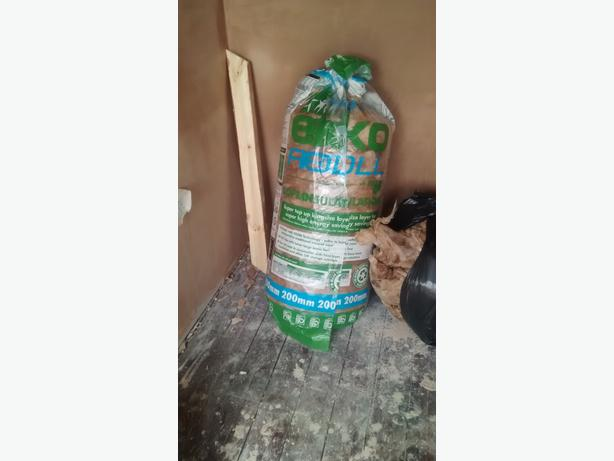 INSULATION AND FOAM FOR SALE.