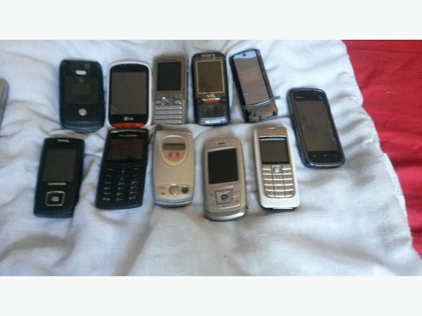 huge joblot mobile phones