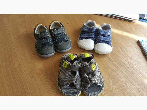 Infant boy shoes, 3 pairs