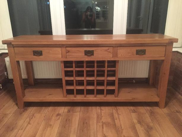 solid oak sideboard (free delivery)