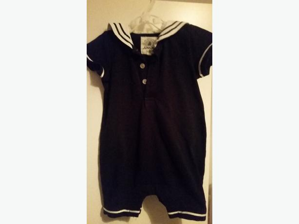 junior j boys sailor romper