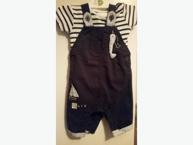 next boys dungaree outfit