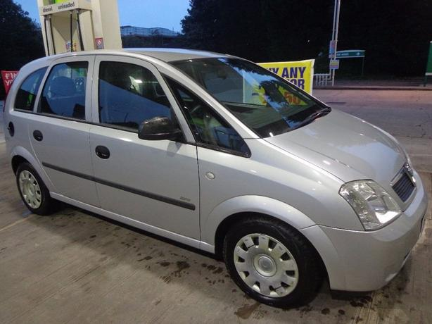 2006 vauxhall meriva 1.4 with 12 months mot cheap tax DRIVEAWAY OR DELIVERY