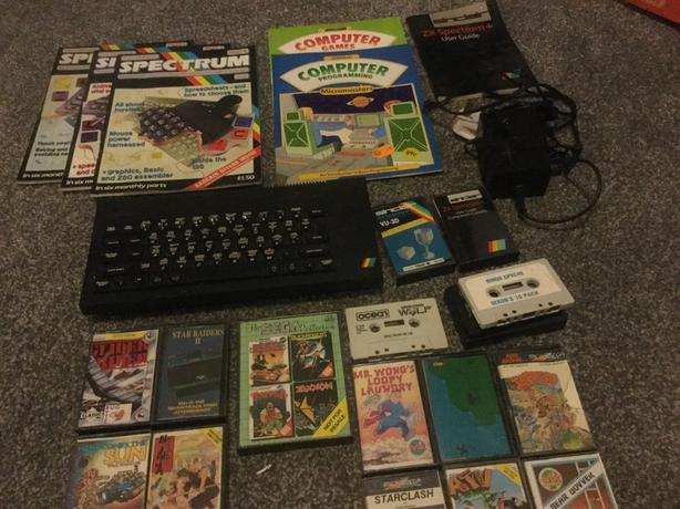 ZX Spectrum + with games