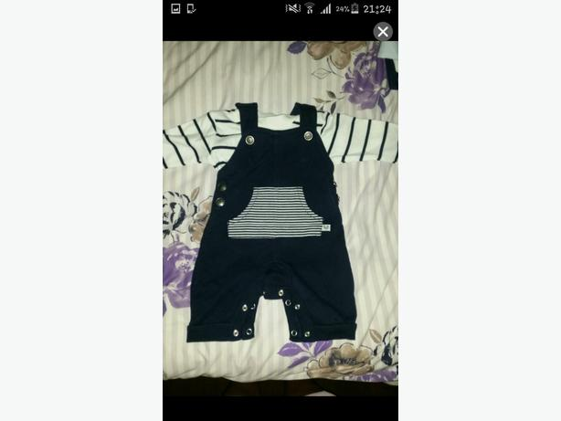 baby boy dungaree outfit