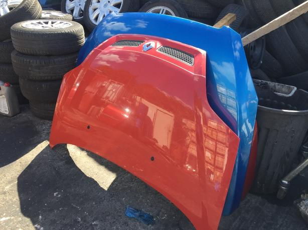 RENAULT MEGANE SCENIC 1999-2003 BONNET PAONT CODE OV727 RED