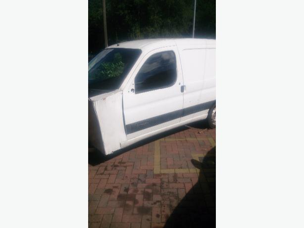 Citroën berlingo van trailer